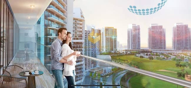 Hotel Apartment for Sale in DAMAC Hills (Akoya by DAMAC), Dubai - great investment opportunity. Golf-view hotel room/ limited time offer