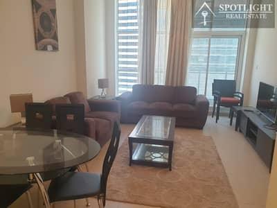 فلیٹ 1 غرفة نوم للايجار في الخليج التجاري، دبي - Luxury Furnished 1 Bed + Canal View High Floor
