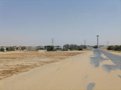 ارض سكنية  للبيع في الحليو، عجمان - تملك قطعة أرض لبناء فيلا في منطقة الحليو بسعر مميز
