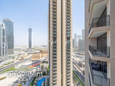 شقة 2 غرفة نوم للبيع في وسط مدينة دبي، دبي - Stunning View   Two Balconies   Tenanted
