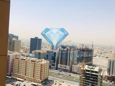 1 Bedroom Apartment for Rent in Al Sawan, Ajman - Big size One Bedroom for rent With Partial Open View