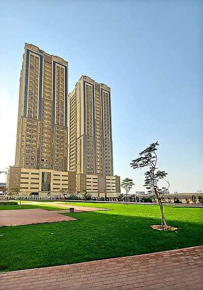 فلیٹ 2 غرفة نوم للبيع في مدينة الإمارات، عجمان - شقة في برج إم أر مدينة الإمارات 2 غرف 180000 درهم - 5064567