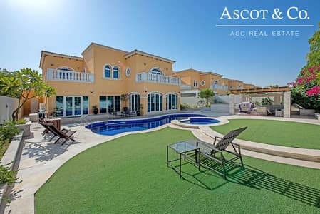 5 Bedroom Villa for Sale in Jumeirah Park, Dubai - New to the Market| Immaculate View Today