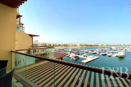 Studio for Sale in Palm Jumeirah, Dubai - Studio | Vacant | Marina Views | Upgraded