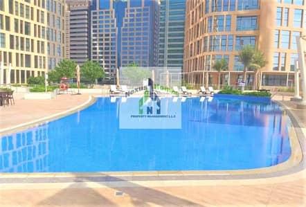 فلیٹ 3 غرف نوم للايجار في الخالدية، أبوظبي - 3 Bedroom Apartment for Rent in United Square