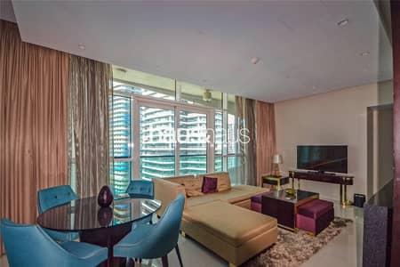 فلیٹ 2 غرفة نوم للايجار في وسط مدينة دبي، دبي - Stylish 2-Bed | Burj Khalifa View | Furnished