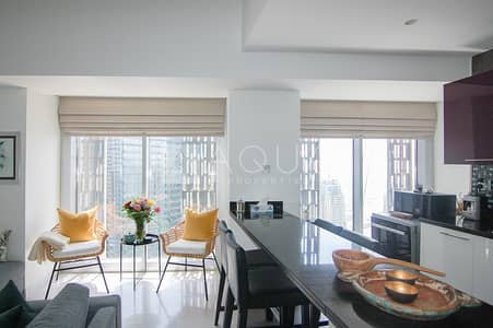 2 Bedroom Apartment for Rent in Dubai Marina, Dubai - Available first week of July | Marina view
