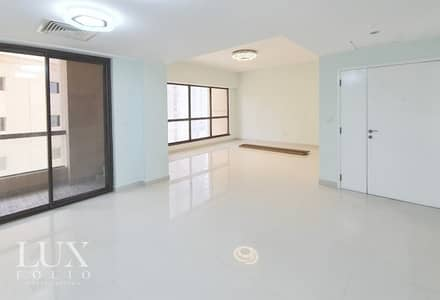 3 Bedroom Apartment for Rent in Jumeirah Beach Residence (JBR), Dubai - Beautifully Upgraded | Unfurnished | Vacant