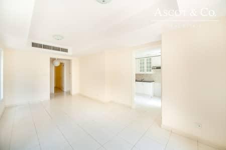 فیلا 2 غرفة نوم للايجار في الينابيع، دبي - Great Single Row |Type 4E in  Springs 14