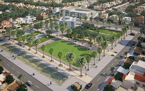 Plot for Sale in Al Helio, Ajman - With only 20% downpayment, you own a plot of land in the most prestigious plot in Al Helio area, and installments over 12 months without interest without bank guarantees