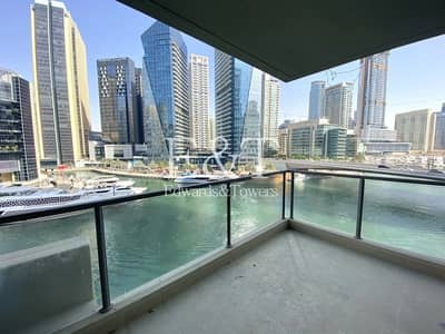 3 Bedroom Apartment for Rent in Dubai Marina, Dubai - Unfurnished | 3 Bed + Maids | Marina View