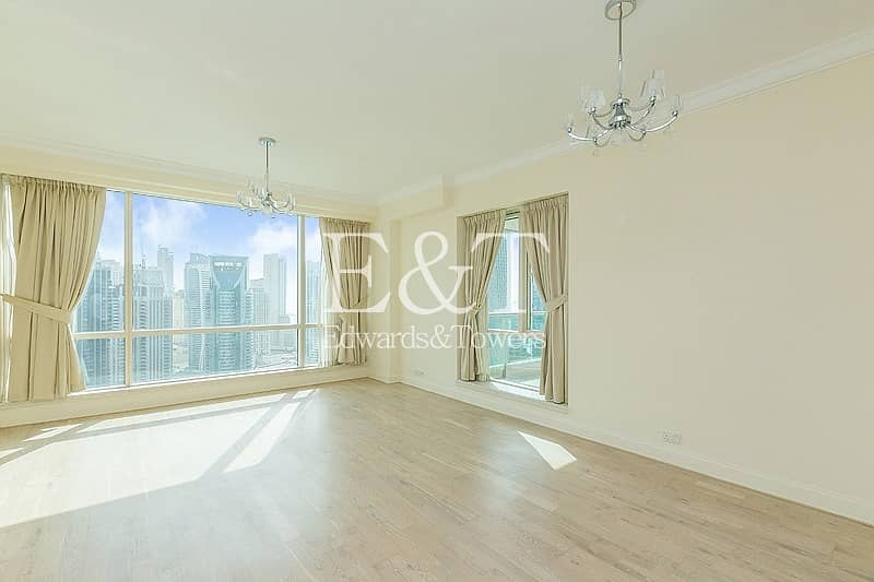 2 Upgraded with Full Marina View on High Floor