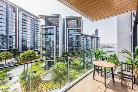 فلیٹ 1 غرفة نوم للايجار في جزيرة بلوواترز، دبي - Sea view | Big Layout | Available from End August
