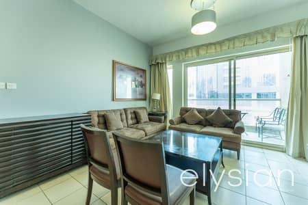 شقة 2 غرفة نوم للايجار في الروضة، دبي - Excellent Furnished | 1 Bed in The Greens