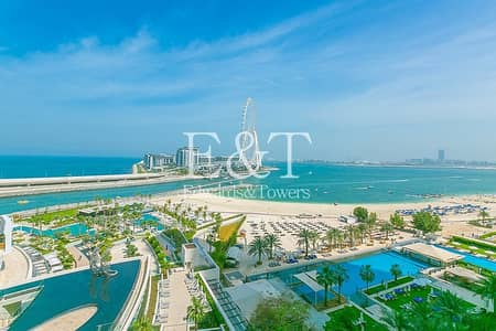 2 Bedroom Flat for Rent in Jumeirah Beach Residence (JBR), Dubai - Large Layout | Full Sea View | Type R2E