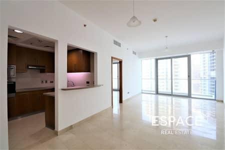 فلیٹ 1 غرفة نوم للايجار في دبي مارينا، دبي - Sea Views | Equipped Kitchen | Large 1 Bed plus Study