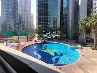 1 Bedroom Flat for Rent in Dubai Marina, Dubai - 1 B/R + Balcony Furnished Marina View The Waves A