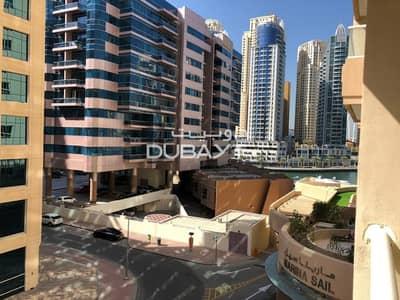 شقة 1 غرفة نوم للايجار في دبي مارينا، دبي - Pay 6 cheq 1BR+balcony
