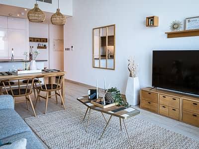 فلیٹ 1 غرفة نوم للبيع في دبي مارينا، دبي - Well lit Living rooms