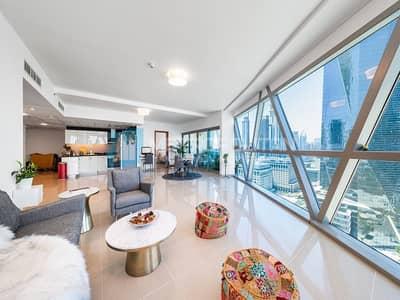 فلیٹ 2 غرفة نوم للبيع في مركز دبي المالي العالمي، دبي - Spacious and Bright Zabeel View  Exclusive Listing