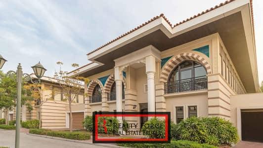 5 Bedroom Villa for Sale in Palm Jumeirah, Dubai - LARGE 5BR W/CONFINED VILLAS|LAGOON & PARK FACING