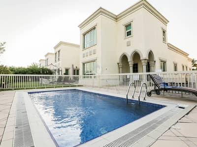5 Bedroom Villa for Sale in Jumeirah Islands, Dubai - Master View Lake View  Vacant March 2018