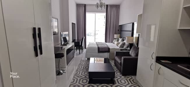 Studio for Rent in Dubai Sports City, Dubai - Multiple Payment - Fully Furnished - Vacant