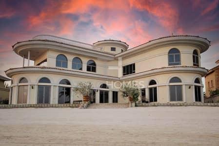 فیلا 6 غرف نوم للبيع في نخلة جميرا، دبي - High Number |Private Pool & Beach Access