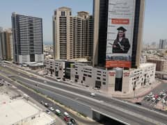 AMAZING OFFER 1BHK FULL OPEN VIEW AVAILABLE FOR SALE CITY TOWERS AJMAN