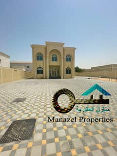 Villa for rent in Al Jurf area behind traffic directly on Jar Street. The villa is new, very privileged location.