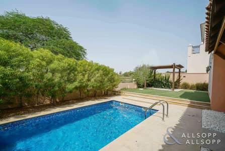 فیلا 4 غرف نوم للايجار في عقارات جميرا للجولف، دبي - 4 Beds   Private Pool   Golf Course View