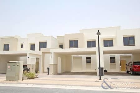فیلا 3 غرف نوم للايجار في تاون سكوير، دبي - 3 Bedrooms   Hayat   Type 6   Single Row