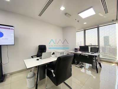 مکتب  للايجار في الخليج التجاري، دبي - Fitted Office with Managers Room | Citadel Tower