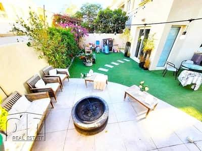 فیلا 2 غرفة نوم للايجار في الينابيع، دبي - Upgraded | Extended | Corner Unit