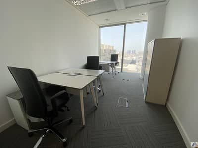 Office for Rent in Bur Dubai, Dubai - Fully Furnished /Serviced / well maintained Office /Linked with Metro and Mall