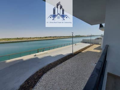 3 Bedroom Apartment for Sale in Yas Island, Abu Dhabi - 3 BHK apartment + Maid room and large terrace with amazing canal view !!