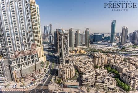 استوديو  للبيع في وسط مدينة دبي، دبي - High Floor Studio In Address Downtown   Exclusive