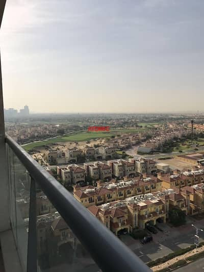 Studio for Rent in Dubai Sports City, Dubai - With Balcony | Unfurnished | Facing Golf Course