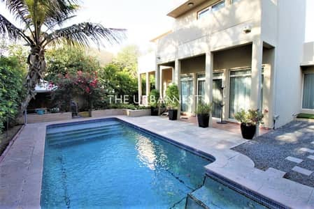 3 Bedroom Villa for Sale in Arabian Ranches, Dubai - Backing Park  with Pool   Real Listing   Type 9
