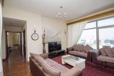 2 Bedroom Apartment for Sale in Barsha Heights (Tecom), Dubai - Chiller Free | Closed kitchen | Clean Apartment