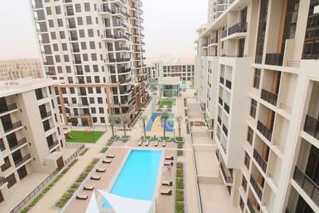 فلیٹ 1 غرفة نوم للايجار في تاون سكوير، دبي - Pool View | High floor | View It Today!