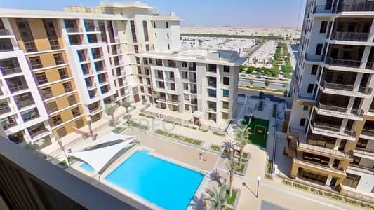 شقة 2 غرفة نوم للايجار في تاون سكوير، دبي - Exclusive|Central Park|Pool View|View Today