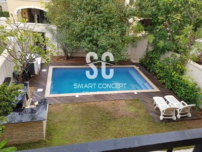 4 Bedroom Townhouse for Sale in Saadiyat Island, Abu Dhabi - Private Pool and Garden | Huge Layout