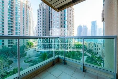 شقة 2 غرفة نوم للايجار في دبي مارينا، دبي - Study |Garden View |Spacious |Peaceful |Appliances