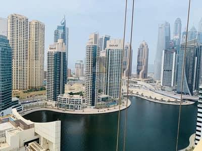 2 Bedroom Apartment for Sale in Dubai Marina, Dubai - Full Marina and Sea View 2BR on Higher Floor
