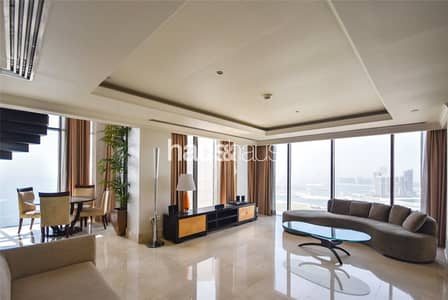 1 Bedroom Penthouse for Rent in Jumeirah Beach Residence (JBR), Dubai - Penthouse  Upgraded  Chiller Free  Sea + Palm View