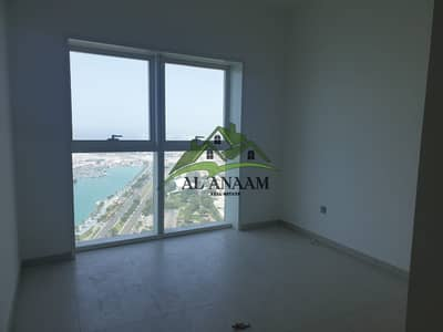 3 Bedroom Apartment for Rent in Corniche Area, Abu Dhabi - Full sea view! 3BR for lease in Corniche with GYM & Parking & Swimming pool