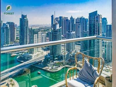 شقة 1 غرفة نوم للايجار في دبي مارينا، دبي - Amazing Unit | 1 Bed | High Floor | Vacant