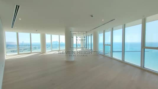 4 Bedroom Townhouse for Rent in Saadiyat Island, Abu Dhabi - Amazing 4BR+MaidRoom With Large 2 Balcony | Fabulous Sea View !