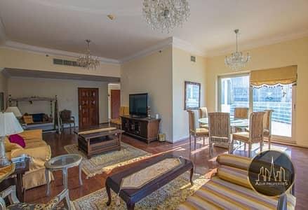 3 Bedroom Flat for Rent in Dubai Marina, Dubai - 3 B/R FURNISHED | CHILLER FREE | 2 PARKING